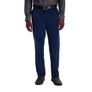5/$15 SALE NWT Haggar Stretch Corduroy Navy Pants